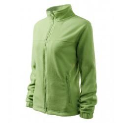 Bunda dámská fleecová JACKET trávově zelená
