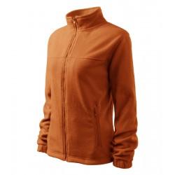 Bunda dámská fleecová JACKET oranžová