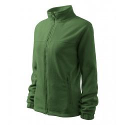 Bunda dámská fleecová JACKET lahvově zelená