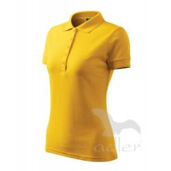Polokošile dámská PIQUE POLO žlutá