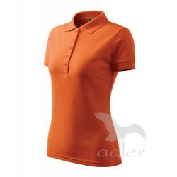 Polokošile dámská PIQUE POLO oranžová
