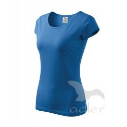 Tričko dámské PURE azurově modrá