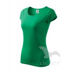 Tričko dámské PURE středně zelené