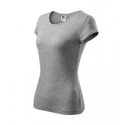 Tričko dámské PURE tm.šedý melír
