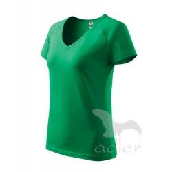 Tričko dámské DREAM středně zelené