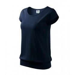 Tričko dámské CITY námořní modrá
