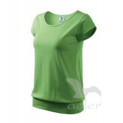 Tričko dámské CITY trávově zelené