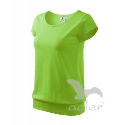 Tričko dámské CITY apple green