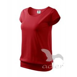 Tričko dámské CITY červené