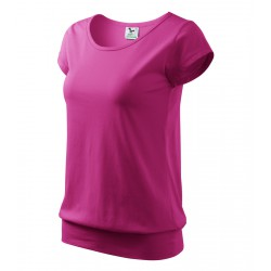 Tričko dámské CITY purpurové