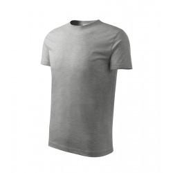 Tričko dětské CLASSIC NEW tmavě šedý melír