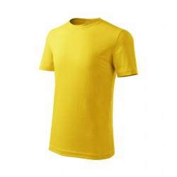 Tričko dětské CLASSIC NEW žluté