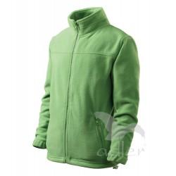 Dětská bunda fleecová JACKET trávově zelená