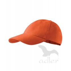 Kšiltovka dětská 6P oranžová