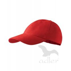 Kšiltovka dětská 6P červená