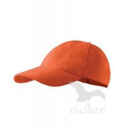 Kšiltovka 6P oranžová