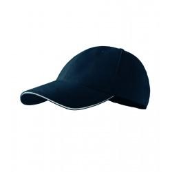 Kšiltovka 6P SANDWICH námořní modrá