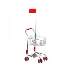 Nákupní vozík SILVER s vlaječkou