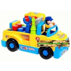 Multifunkční, rozkládací autíčko s údržbářem