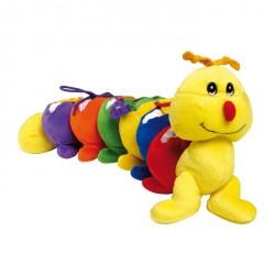 Textilní hračky - Stonožka