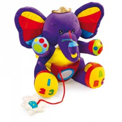Textilní hračky - Slon Lili