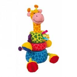 Textilní hračka - Žirafa pro nejmenší