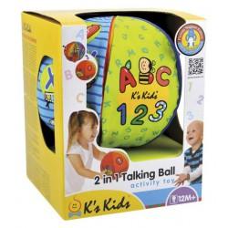 Textilní hračky - Mluvící míč (2v1)