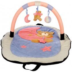 Cestovní hrací deka s hrazdou – medvídek