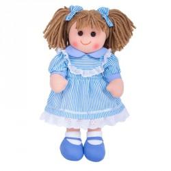 Bigjigs Toys látková panenka Amelia 35 cm