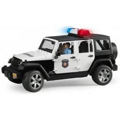 Bruder - Jeep Wrangler Rubicon Policie