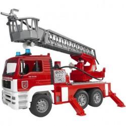 Bruder - Nákladní auto MAN - požární žebřík + maják