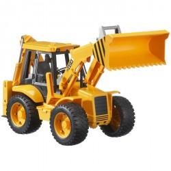 Bruder - Traktor JCB 4CX s čelním nakladačem a lžící