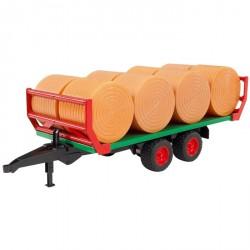 Bruder - Přepravník na balíky + 8ks balíků