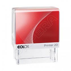 Samobarvící razítko s textem COLOP PRINTER 20/L - ZAPLACENO