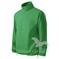 Pánská fleecová mikina HORIZON středně zelená