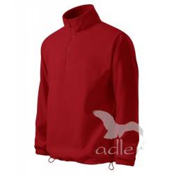 Pánská fleecová mikina HORIZON červená