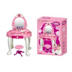 Dětský kosmetický stolek s fénem