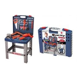 Dětské nářadí G21 pracovní stůl v kufříku