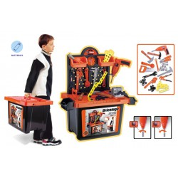 Dětské nářadí - velký kufr