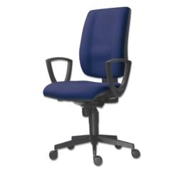 Kancelářská židle FLUTE 1380 SYN / BN3 - tm. modrá