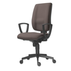 Kancelářská židle FLUTE 1380 SYN / BN5 - šedá