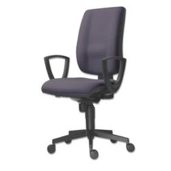 Kancelářská židle FLUTE 1380 SYN / BN6 - antracit