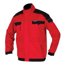 Pracovní blůza  COOL TREND červeno-černá