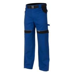 Pracovní kalhoty do pasu COOL TREND modro-černé