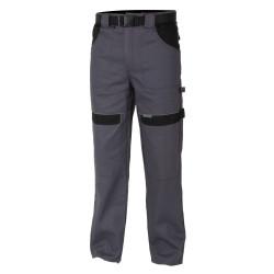 Pracovní kalhoty do pasu COOL TREND šedo-černé