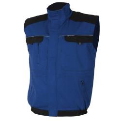 Pracovní vesta COOL TREND modro-černá