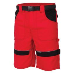 Pracovní kraťasy COOL TREND červeno-černé