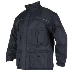 Zimní pánská bunda LINO tm. modrá
