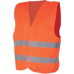 Bezpečnostní vesta ALEX oranžová - 4XL