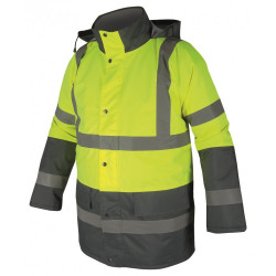 Výstražná bunda zimní REF 601